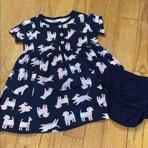 Girls Puppy Dress